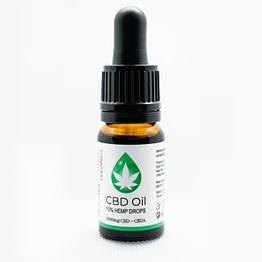 CBD Oil Cannabidiol 10% hemp drops